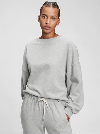 GAP - Vintage Soft Crewneck Sweatshirt B10 GREY HEATHER