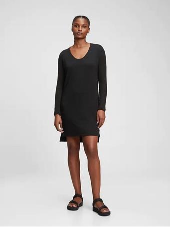 GAP - Softspun Dress TRUE BLACK