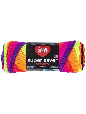 RED HEART - Super Saver Stripes Yarn  4970