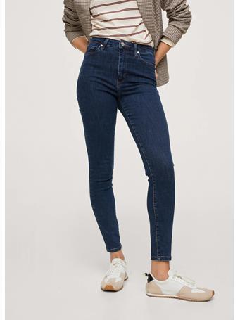MANGO - High-rise Skinny Jeans NAVY