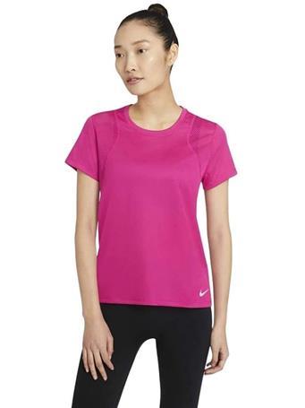 NIKE - Run Women's Short-Sleeve Running Top FIREBERRY