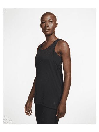 NIKE - Yoga Women's Tank HTHR BLUE