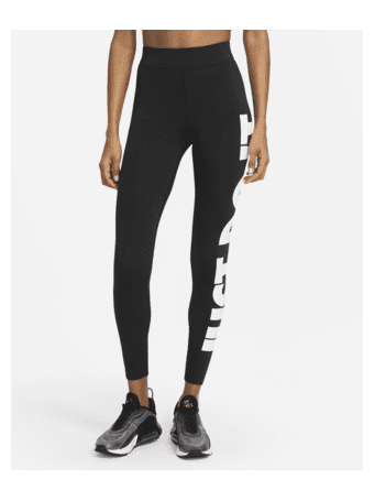 NIKE - Sportswear Essential Women's High-Waisted Leggings BLACK