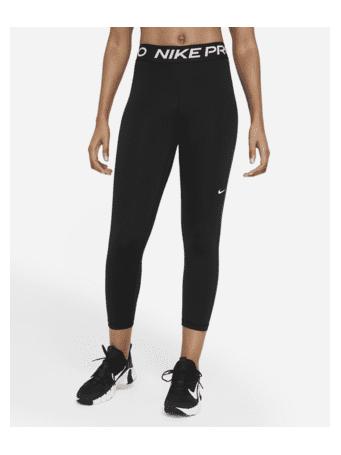 NIKE - Nike Pro 365 Women's Mid-Rise Crop Leggings BLACK