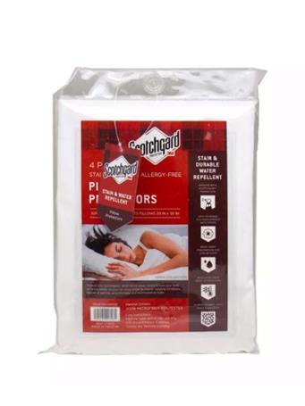 SCOTCHGUARD - 4 Pack Scotchgard Pillow Protectors WHITE