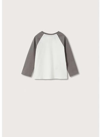 MANGO - Mickey Long-sleeved T-shirt 2 IVORY