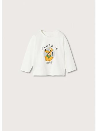 MANGO - Pluto Long Sleeve T-shirt 2 IVORY