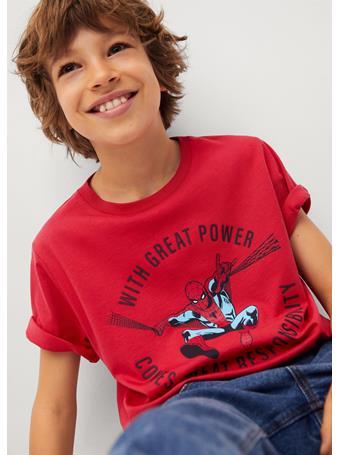 MANGO - Spider-man T-shirt 70 RED