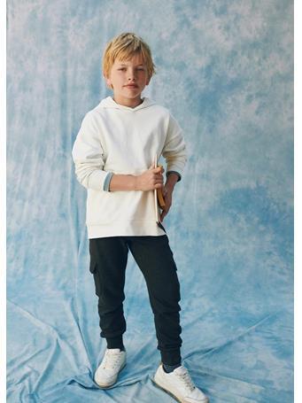 MANGO - Cotton Jogger-style Trousers 96 DARK GREY