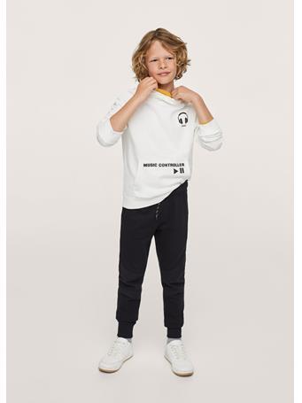 MANGO - Cotton Jogger-style Trousers 99 BLACK