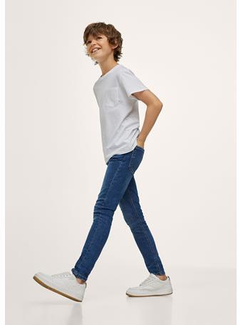 MANGO - Skinny Jeans TM BLUE