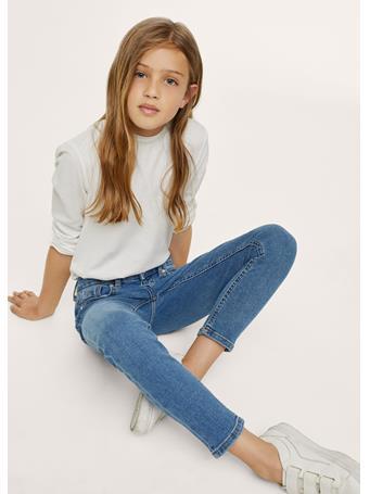 MANGO - Skinny Jeans TO MEDIUM BLUE