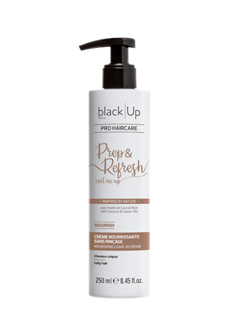 BLACK UP - Prep & Refresh Coil Me Up - Nourishing Leave-in Cream 250ML No Color