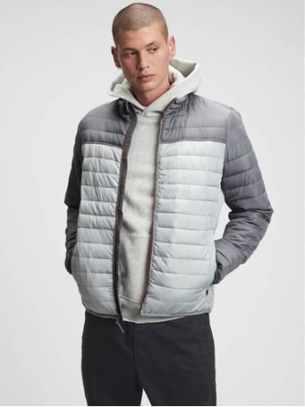 GAP - Block Puffer Jacket  SIDEWALK GREY