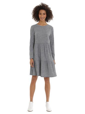 MAGGY LONDON -  Linnea Dress CHARCOAL HEATHER