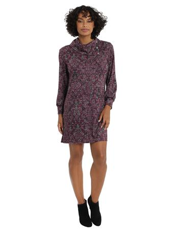 MAGGY LONDON - London Times Millie WINE/GREY