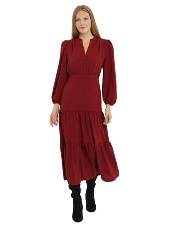 MAGGY LONDON - London Times Levinia Dress WINE