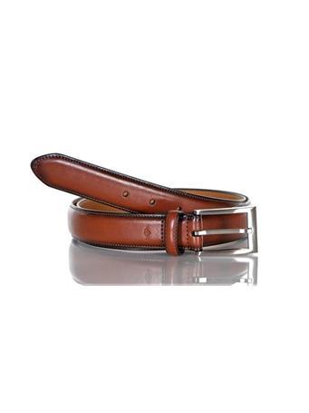 DOCKERS - Leather Dress Belt 251 TAN