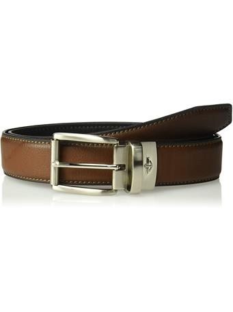 DOCKERS - Reversible Casual Belt with Comfort Stretch 519 COGNAC/BLACK