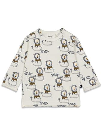 FEETJE - KING OF COOL Long Sleeve All Over Print Top IVORY