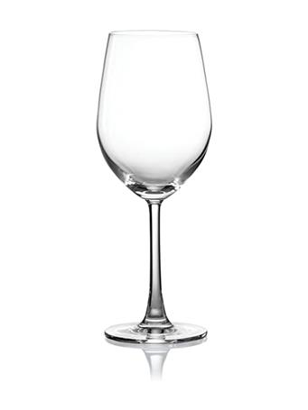 PURE & SIMPLE - Set of 4 Crystal Chardonnay Glasses - 345ML No Color