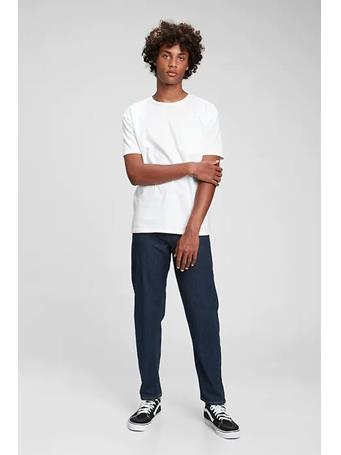 GAP - Teen Relaxed Tapered Vintage Jeans with Washwell DARK WASH