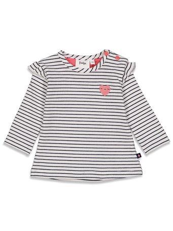 FETJE - SWEETHEART Fashion Stripe Swing Top IVORY