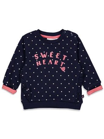FEETJE - SWEETHEART Dots Sweater NAVY