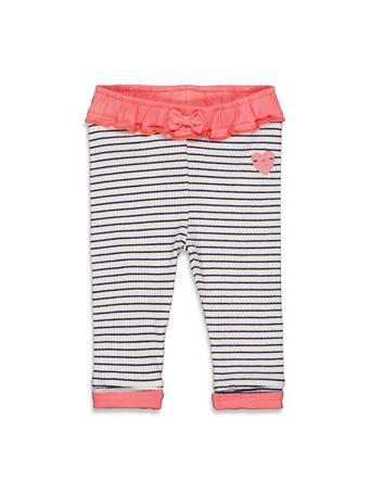 FEETJE - SWEETHEART Fashion Stripe Legging IVORY