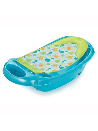 SUMMER INFANT - Splish 'n Splash Newborn to Toddler Tub, Blue No Color