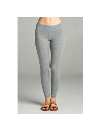 ACTIVE BASIC - Basic Legging HTR GRY