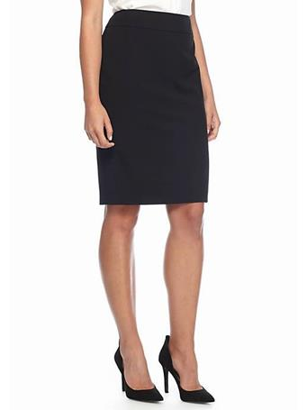 CHAUS - Elizabeth Pencil Skirt  060RICHBLACK