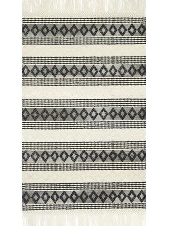 MAGNOLIA HOME  - Holloway Rug Collection BLACK/IVORY