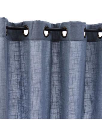 SIGNATURE DESIGN - Linen Texture Lined Panel AQUA