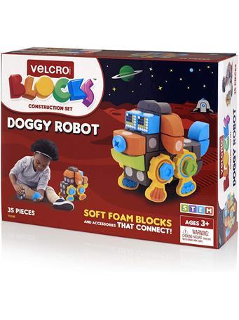 VELCRO BLOCKS - Doggy Robot Foam Blocks Construction Kit - (3+Yrs.) 70190DOG