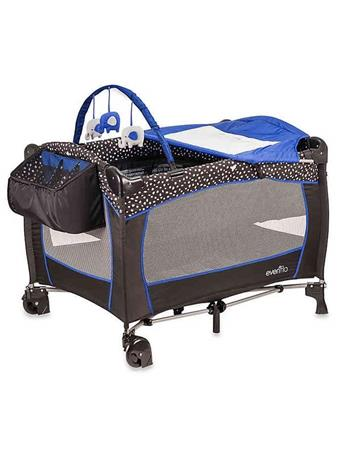 EVENFLO - Hayden Dot Play Yard No Color