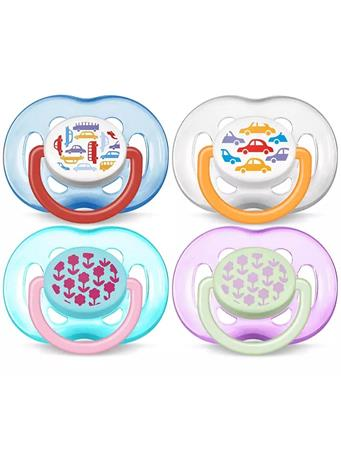 PHILIPS AVENT - Freeflow Soothers No Color