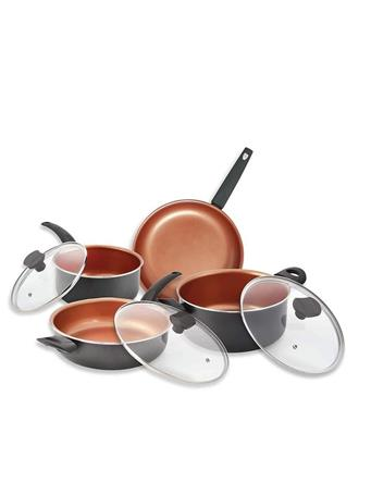 IKO - 16Pc Ceramic Copper Cookware Set With Utensils No Color