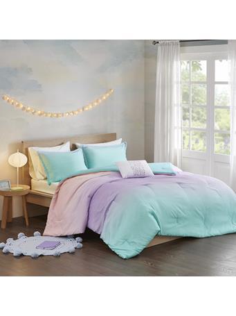 MI-ZONE - Glimmer Glitter Comforter Set MULTI