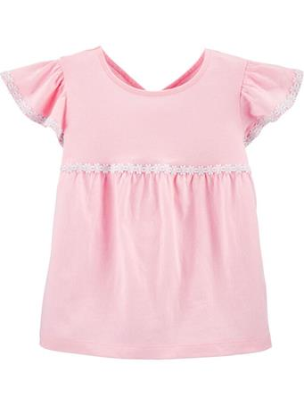 CARTER'S - Embroidered Jersey Top, Toddler Girl No Color