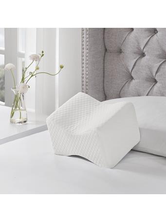SLEEP PHILOSOPHY - Memory Foam Knee Pillow WHITE