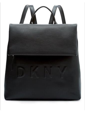 DKNY - Tilly Logo Backpack BLACK/SILVER
