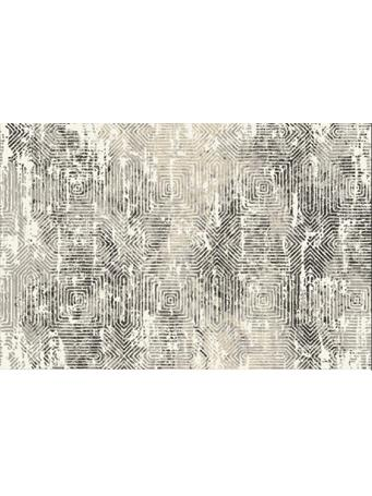 KENSINGTON - Nazca Lines Plush Rug GREY