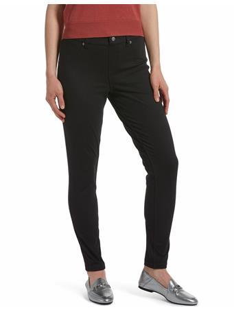 HUE - High Waist Denim Leggings  790001 BLACK