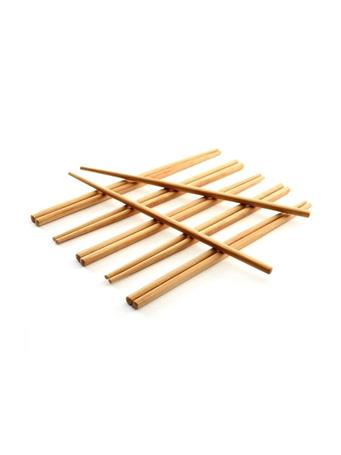 NORPRO - Bamboo Chopstick Pair - Set of 6 NOVELTY