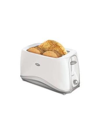 OSTER - 4 Slice Toaster - White NOVELTY