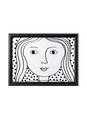 DMD - Looking Good Lap Tray - Her BLK/WHT