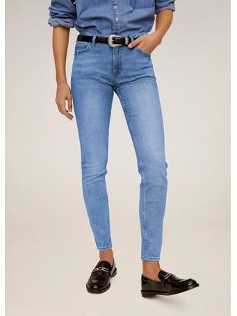 MANGO - Kim Skinny Push-Up Jeans TM-MEDIUM BLUE
