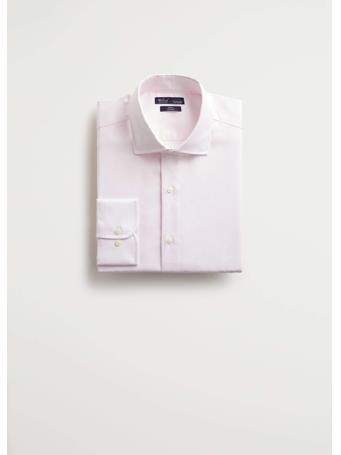 MANGO - Leo Shirt - Pink 82PINK
