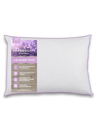 ISO-PEDIC - Tranquility Lavender Jumbo Pillow WHITE